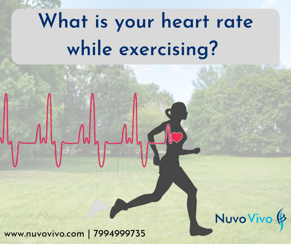 Heart rate during exercise